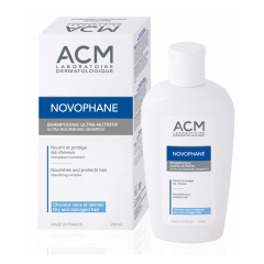 Novophane Șampon ULTRA-NUTRITIV, păr uscat și degradat, 200ml, ACM