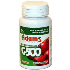 Vitamina C 500mg cu Macese 30 cpr Adams Vision